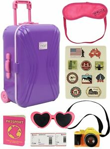 404ab9da83 Image is loading Travel-Set-Luggage-Ticket-Passport-Suitcase-Accessories -For-