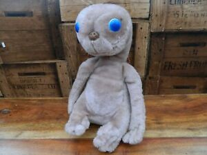 E-T-Soft-Plush-Toy-by-Kamar-1982-Vintage-Retro-13-034-Tall
