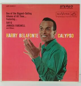 Harry-Belafonte-Calypso-Jamaica-Farewell-Come-Back-Liza-RCA-Victor-LP-LPS-1248e