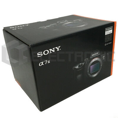 Nuevo Sony Alpha a7 III Mirrorless Cámaras digitales (Body Only)
