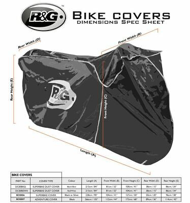 R/&G Racing Outdoor Motorcycle Cover for Adventure Bikes