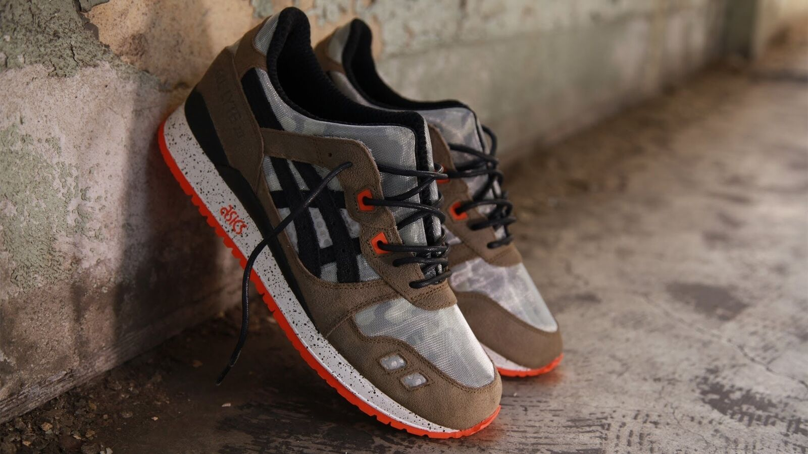 Size 5.0 BAIT ASICS Men Gel Lyte 3 III Basics Model-002 Guardian
