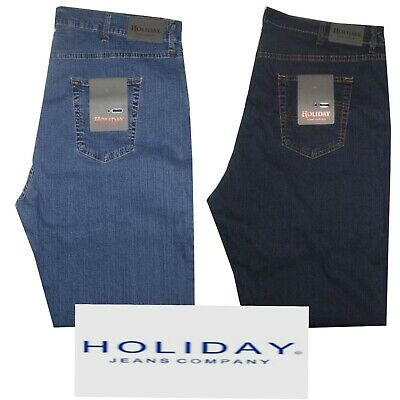 Caritatevole Jeans Uomo Taglie Forti 62 64 66 68 Holiday Pantalone Strech Leggero Over Size
