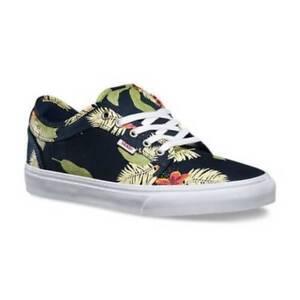 dd6131001a77a2 Vans Chukka Low Pro Aloha Navy Green Men s 11 Skate Shoes New NIB ...
