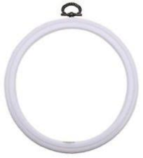 3.5 x 5 Inch Wooden OVAL Cross Stitch Embroidery Hoop from Siesta