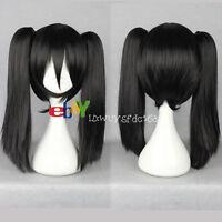 Lolita Japanese Harajuku Style Straight Cosplay Wig+two Clip On Ponytail No:234