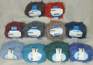 Filati-FF-Over-Italian-Bulky-Fuzzy-Mohair-Wool-Blend-Yarn-Color-Choice-Loom-Knit