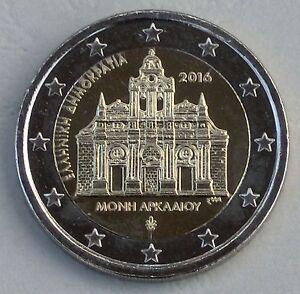2 Euro Grèce 2016 Monastère Arkadi Unz.-afficher Le Titre D'origine