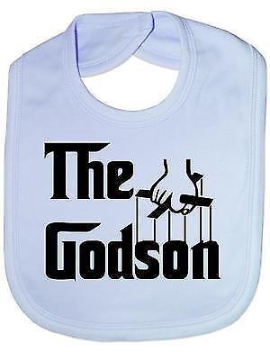 The Godson Christening Baby Feeding Bib Gift