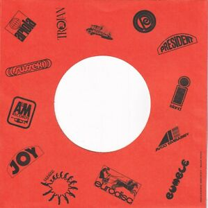 MULTI-DUTCH-LABEL-Reproduction-Record-Sleeves-pack-of-5
