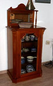Vertigo Möbel jugendstil vertigo mit aufsatz spiegel modell miniatur möbel