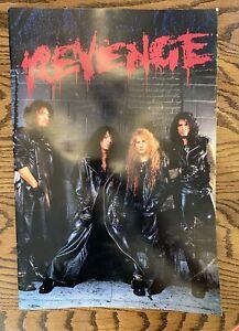 KISS - Revenge Tour Book - 1992 - Rare!! - Large Format