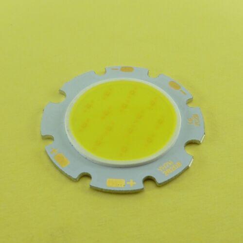 3W 5W 7W 10W Super Brillante Blanco Frío//Cálido Redonda COB LED SMD Chip Bombilla Luz