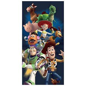 Officiel-Toy-Story-Grand-Serviette-Bain-Plage-100-Coton-Enfants
