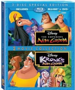 The-Emperor-039-s-New-Groove-Kronk-039-s-New-Groove-New-Blu-ray-With-DVD-Special