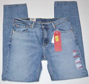 Levis-511-Slim-Fit-Cotton-Blend-Stretch-Destructed-Men-039-s-Jeans-NEW