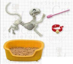 Pose skeleton cat Re-Ment