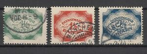 X2318-GERMANY-BAVARIA-OFICIAL-MI-D57-D59-USED-CV-275