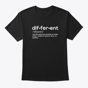 Different-Definition-Not-Same-Unlike-In-Nature-Form-Hanes-Tagless-Tee-T-Shirt