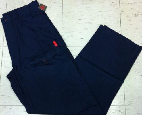 Vintage blue Es Enforcer skateboard hip hop skaters baggy loose pant size 34