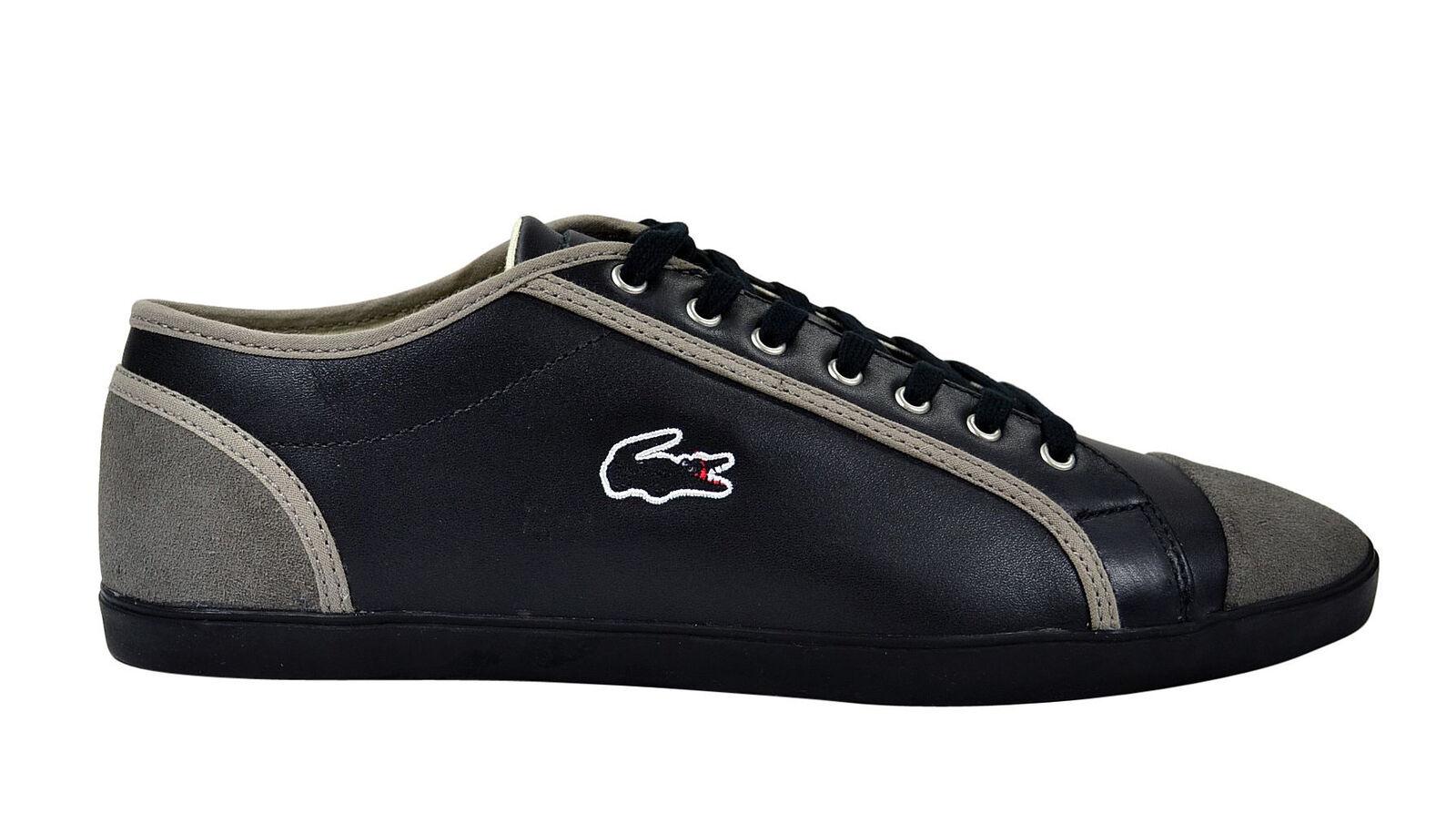 Lacoste Berber 8 black/schwarz LTH BLK Schuhe/Sneaker