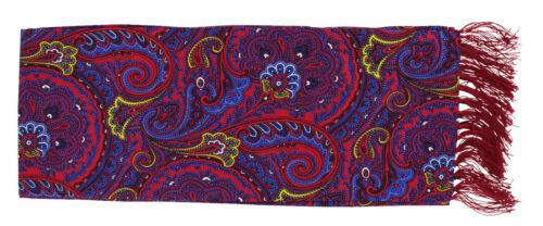 Michelsons UK-Stretto Brillante Sciarpa Paisley