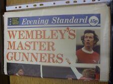 06/05/1978 FA Cup Final: Arsenal v Ipswich Town [At Wembley] Evening Standard Ne