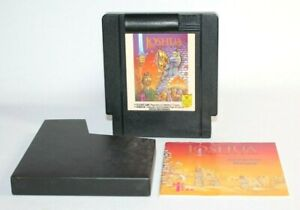 Joshua: The Battle of Jericho NES Nintendo AUTHENTIC & Tested! Comes w/ Manual!