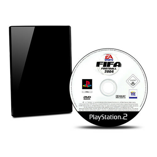 Playstation 2 - PS2 Spiel FIFA FOOTBALL 2004 ohne OVP ohne Anleitung #B