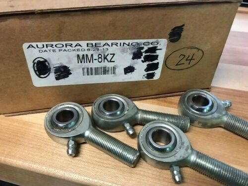 "Aurora Bearing MM-8KZ Rod End 1//2/"""