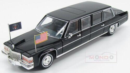 Cadillac Presidential Limousine Regan 1983 Black Lucky Diecast 1:24 LDC24098
