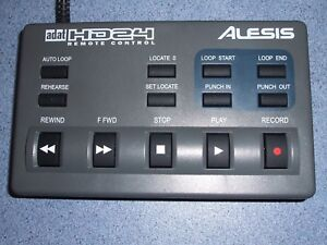 Alesis Hd24-hd24xr Remote Contrôleur En Bon Utilisé Working Condition-afficher Le Titre D'origine