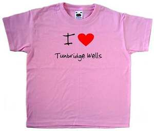 I-Love-Heart-Tunbridge-Wells-Pink-Kids-T-Shirt