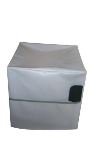 HOUSSE DE PROTECTION POUR THERMOMIX TM6//TM5//TM31 Sans VAROMA Modèle Uni Blanche