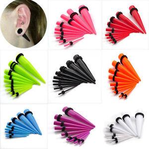 9pcs-Acrylic-Ear-Plug-Taper-Kit-Gauge-Expander-Stretcher-Stretching-Piercing