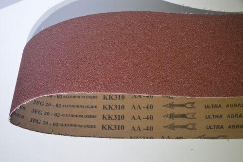 1  Schleifband 200 x 1500 mm Gewebe AlO Körnung 40