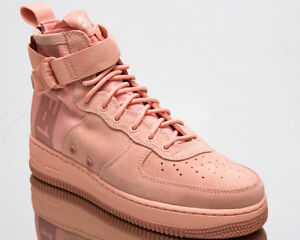 Nike SF Air Force 1 Mid Suede Mens New Shoes Men Coral Stardust ...