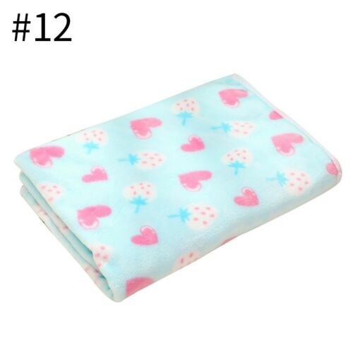 New Pet Blanket Cat Dog Soft Warm Bed Mat Puppy Kitten Thicken Printed Cushion