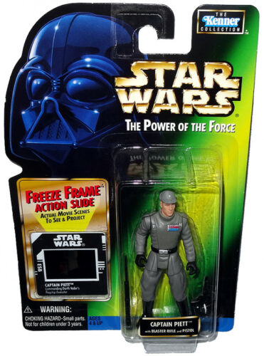 Star Wars Captain Piett POTF Action Figure Freeze Frame MOC RARE Power of Force