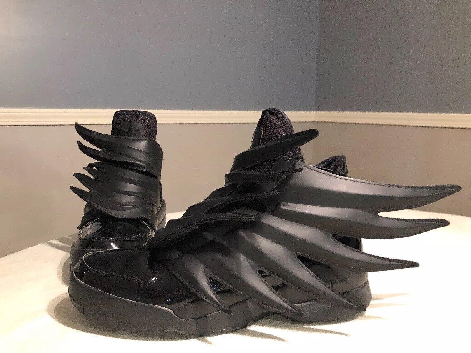 Adidas, Jeremy Scott Wings 3.0, Dark Knight, Batman, Size 9.5, RARE