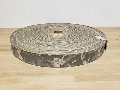 "Desert Sand 1 1//2/"" Inch Mil Spec Webbing 100 Yard Roll Fabric Outdoor Camo #279"
