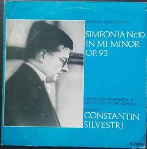 Shostakovich - Symphony No. 10, SILVESTRI, Electrecord STEREO