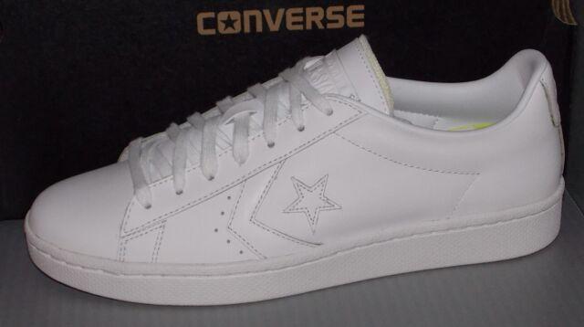 29e7ddca2e5005 Converse Pro Leather 76 Ox Men s White 155319c 7.5 for sale online ...
