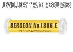 12 BERGEON 1896E WATCH BROACHES 0.20mm - 1.00mm