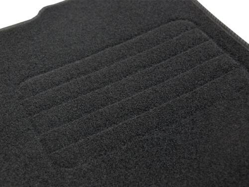 Velours Fußmatten für Citroen C3 Pluriel Bj 2003-2009 Mit Absatzschoner STD