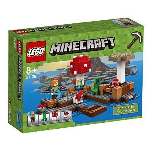 LEGO 21129 Minecraft The  Mushroom Isle  negozio all'ingrosso