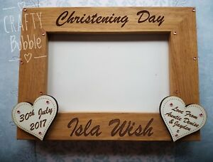 Personalised-hand-made-engraved-christening-photo-frame-gift