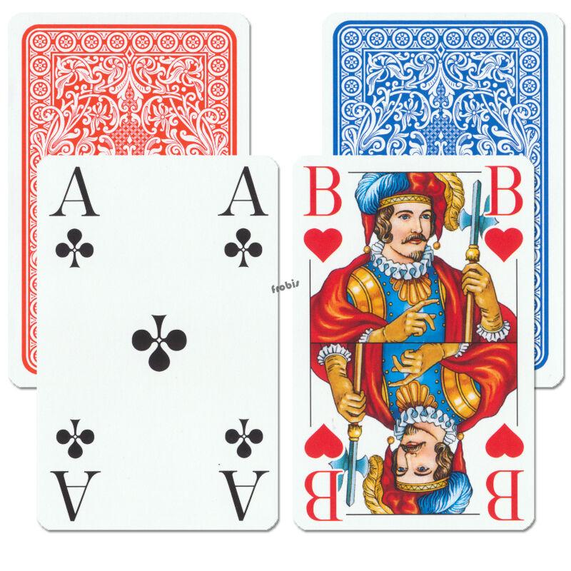 10 Romme Club große Eckzeichen Kartenspiele Französisches Bild Spiele Frobis