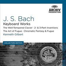 KENNETH GILBERT - J.S.BACH-CEMBALOWERKE (COLLECTORS EDITION) 10 CD NEU