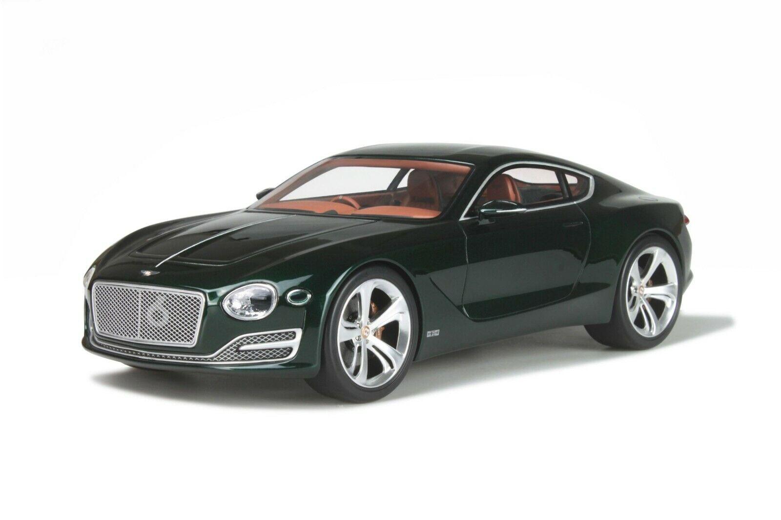 1 18 GT Spirit Bentley Exp 10 Speed 6 (Metallic verde) - New in box